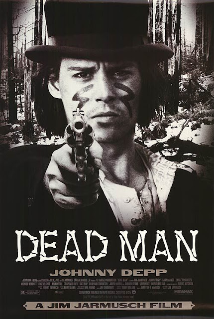 Dead Man, starring Johnny Depp as William Blake, directed by Jim Jarmusch, Movie Poster