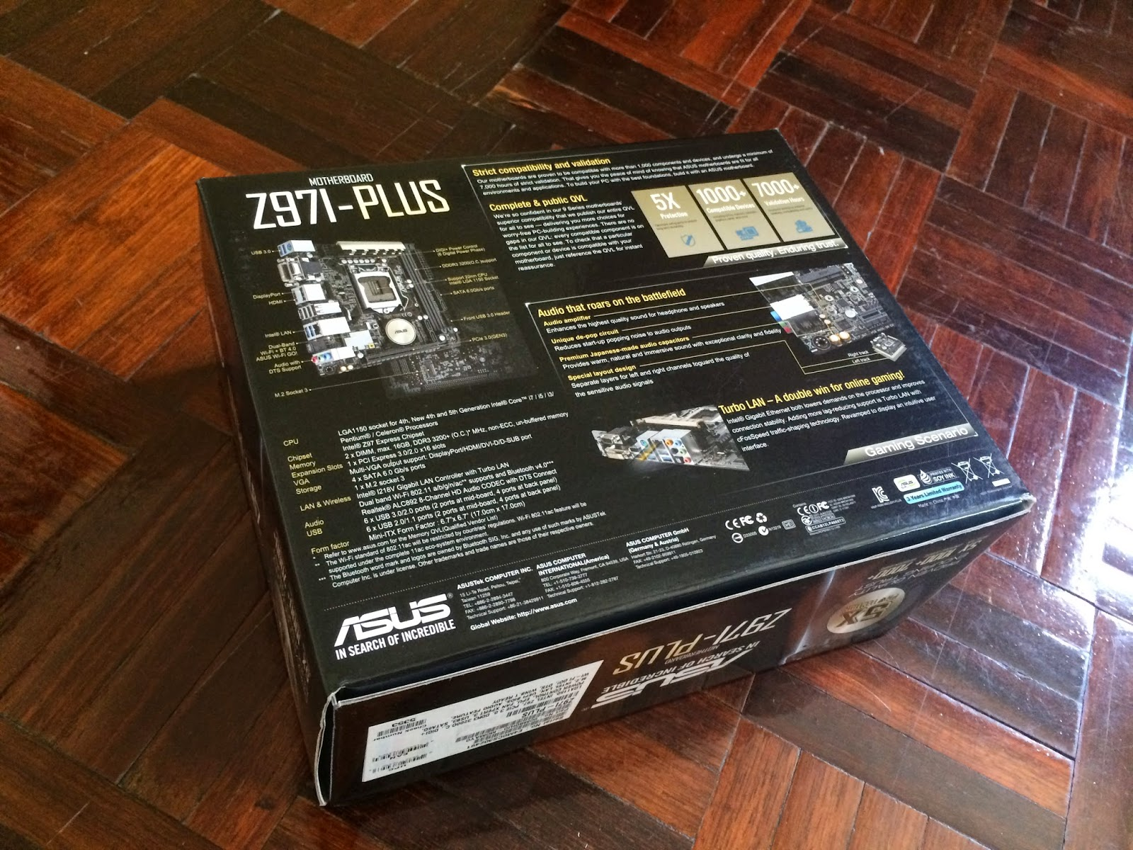 Unboxing & Review - ASUS Z97I-PLUS 142