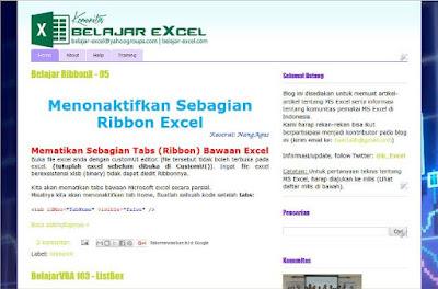 http://www.Belajar-Excel.com