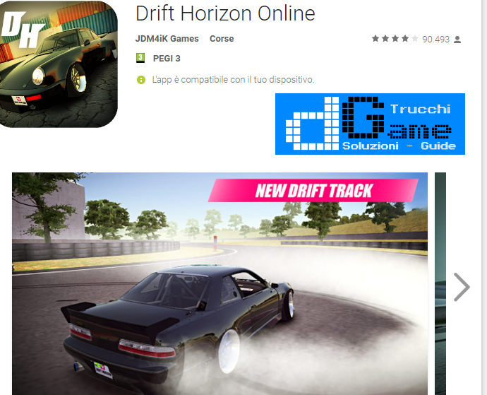 Trucchi Drift Horizon Online Mod Apk Android v5.1.1