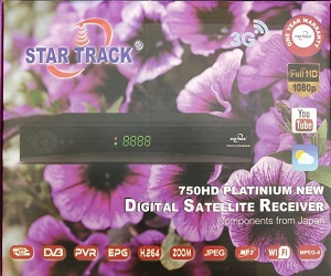 Star track receiver 750 HD Platinium new