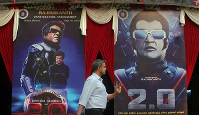 Rajinikanth's chitti symbol back in films with '2.0', charms fans