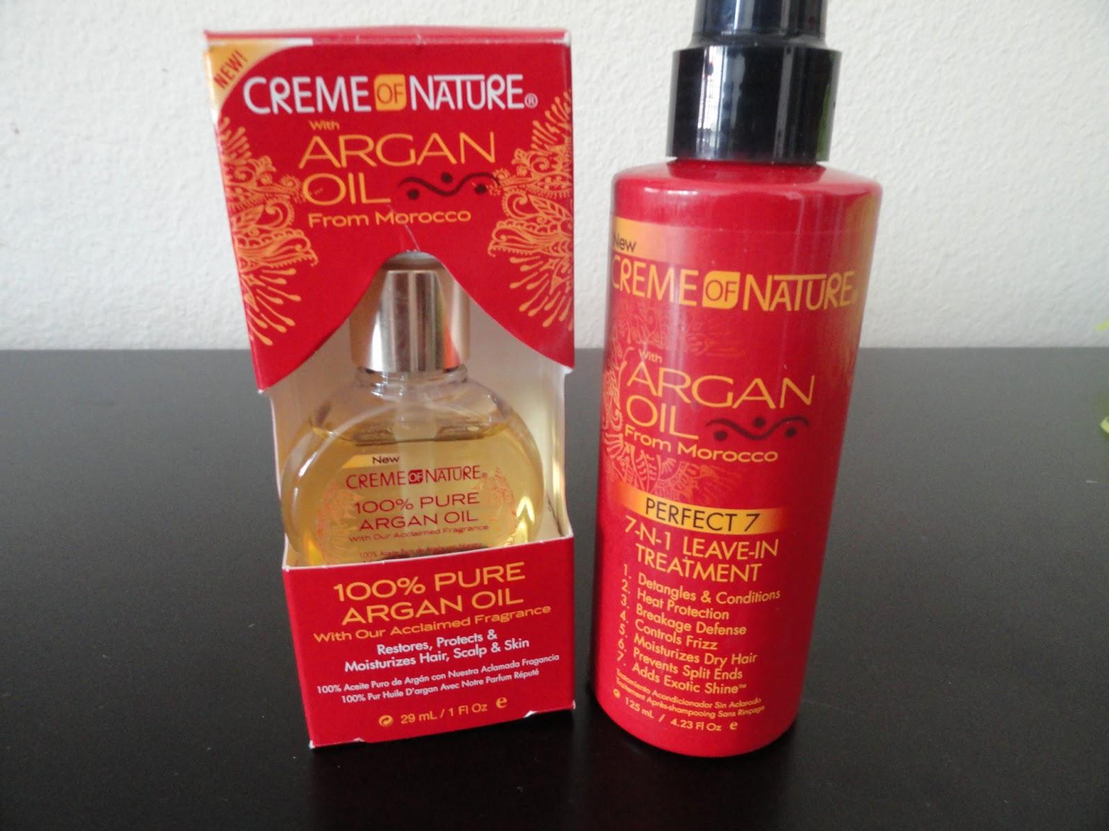 Creme Of Nature Pure Argan Oil