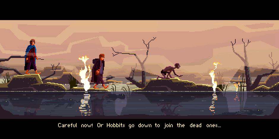 El señor de los Anillos -  Pixel Art
