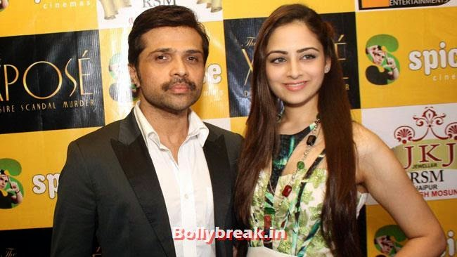 Starcast of film 'XPOSE' at a press conference to promote their movie in Noida, ex Miss India Zoya Afroz at XPOSE Press Conference