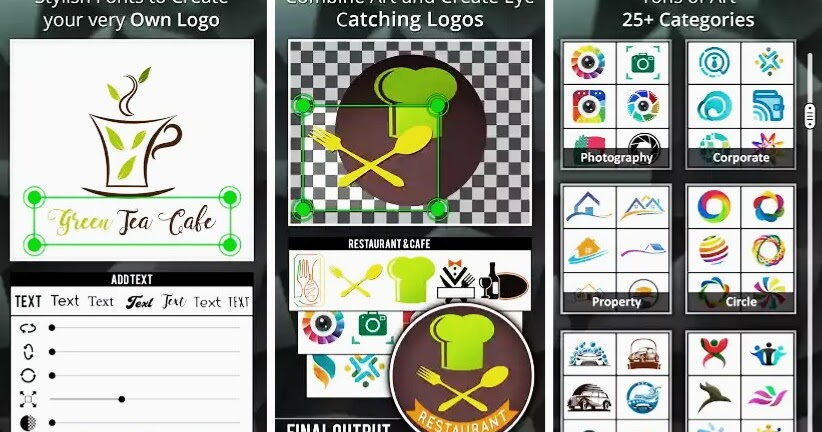 Top 10 Best Free Logo Maker Apps For Android 2017 Kinztechs Free Browsing Cheats Gadgets
