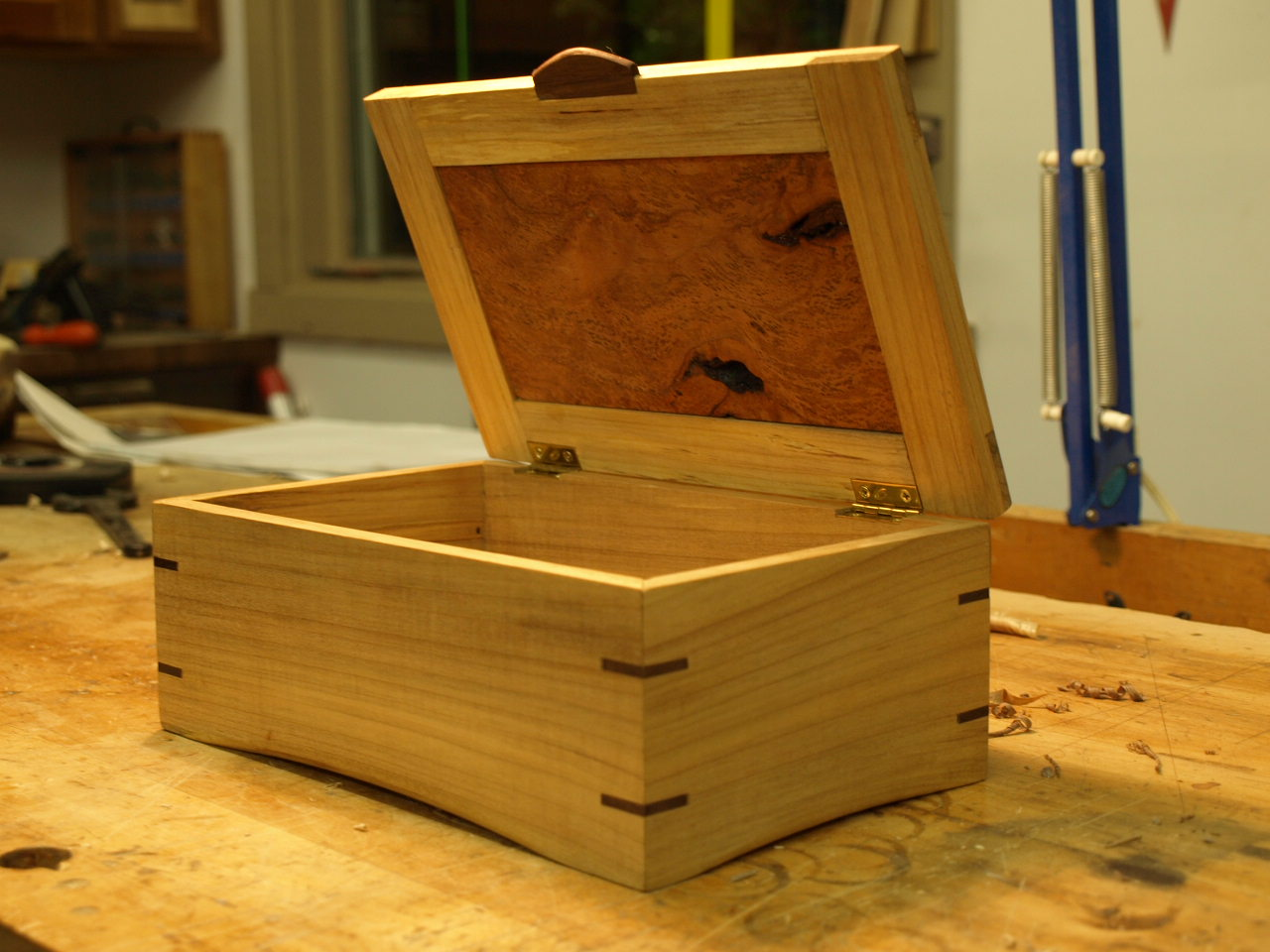 taylor benchworks simple jewelry box for alex. Black Bedroom Furniture Sets. Home Design Ideas