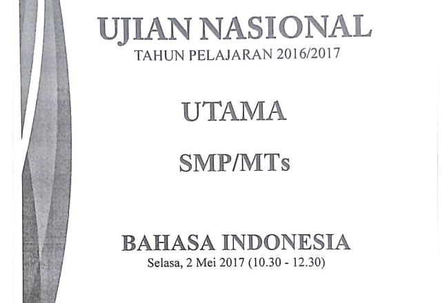 Soal Un Smp Mts Melengkapi Teks Prosedur Zuhri Indonesia