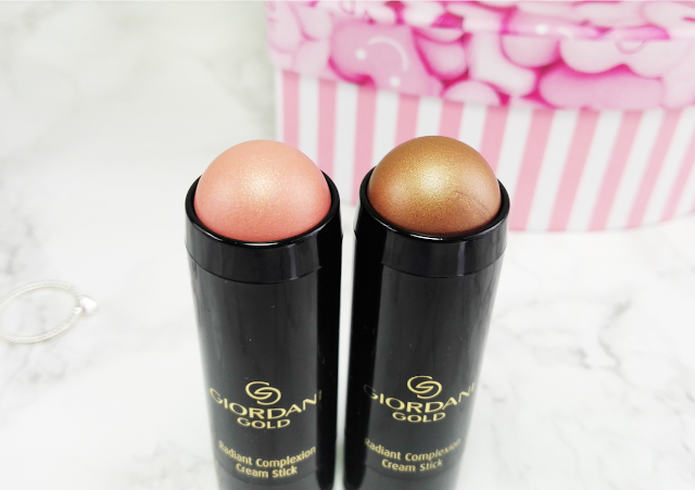 Blogger Mail: Oriflame Giordani Gold Radiant Complexion Cream Stick Coral Glow and Bronze Glow