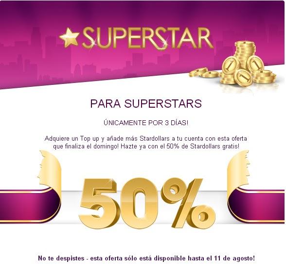 Solo Para Stardoll: 50% De SD Gratis
