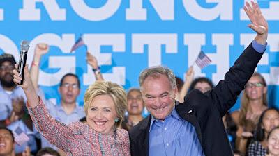 Tim Kaine, Hillary Clinton