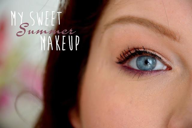 My sweet summer makeup