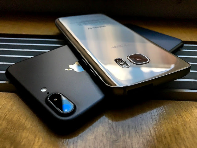 Samsung Galaxy S8 vs iPhone 8