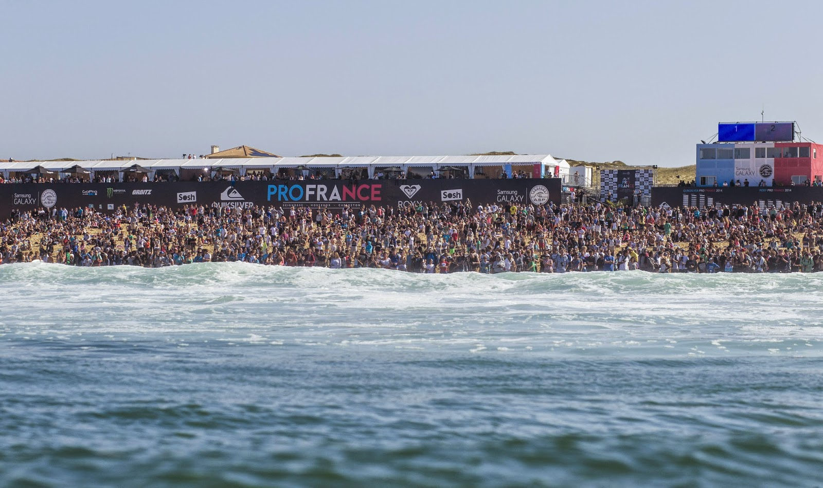 Roxy Pro France 2014 Crowd Foto ASP