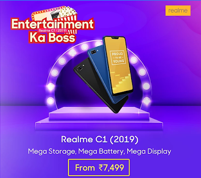 Realme C1 New Variant