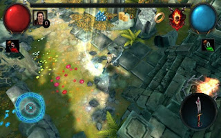 Burning war army of ancient evil came back from lost chaos ethernity to strike thier foes Glory Warrior:Lord of Darkness v1.2.69208 Mod Money Apk
