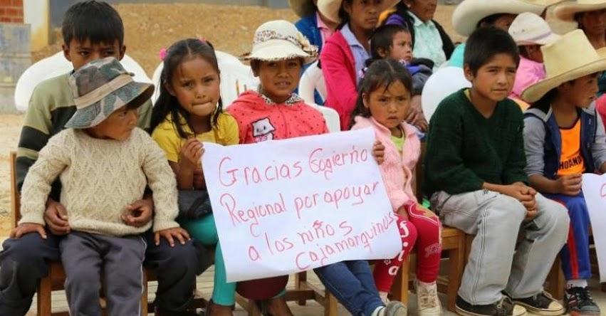 Gobierno Regional creó 250 Instituciones Educativas de Nivel Inicial en la provincia de Cajamarca