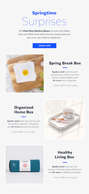Popsugar surprise box for spring