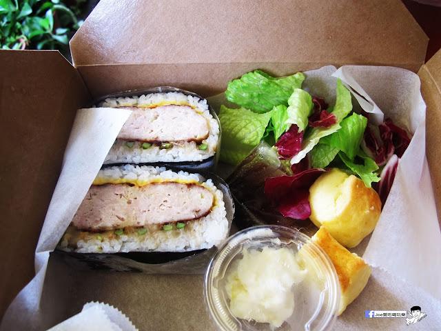 IMG 0437 - 隱藏在教師新村裡的 大小食事│客製化精緻餐盒,漢堡排川飯糰很推薦