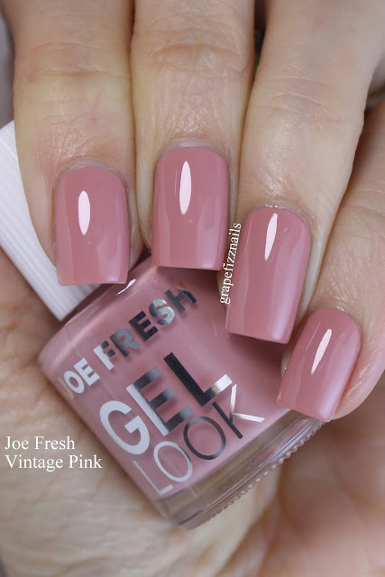 joe fresh gel look vintage pink