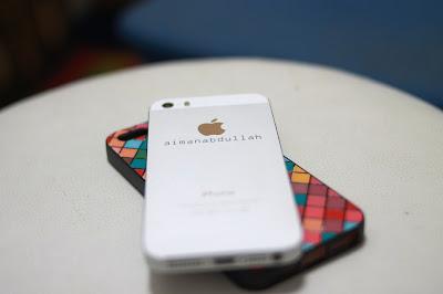 Sempat Ukir Nama Sendiri Pada iPhone