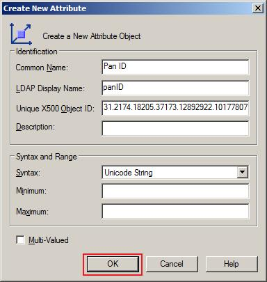 Steps to create custom attribute in Active Directory