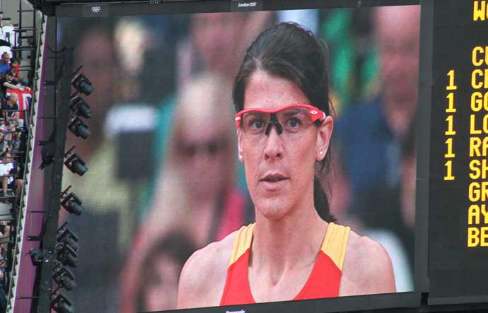 London Olympics 2012 #3: Tia Hellebaut in Oakley
