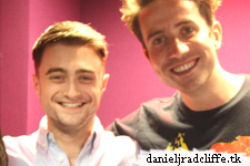 Updated(2): Daniel Radcliffe on BBC Radio 1's Breakfast Show with Nick Grimshaw