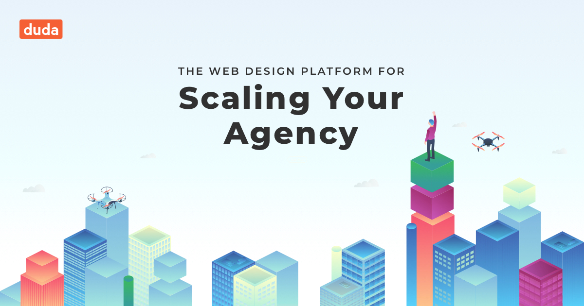 Duda is a web design platform