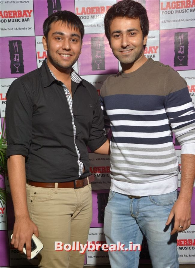 Atiq Shaikh and  Krishna Bharadwaj, Page 3 Celebs at Lagerbay New Menu Launch Party