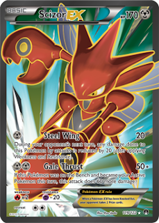 Scizor EX BREAKpoint Pokemon Card