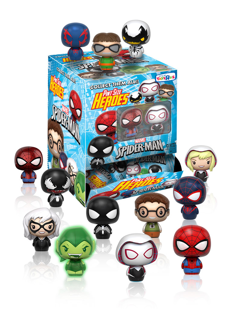 The Blot Says Spider Man Pint Size Heroes Marvel Blind