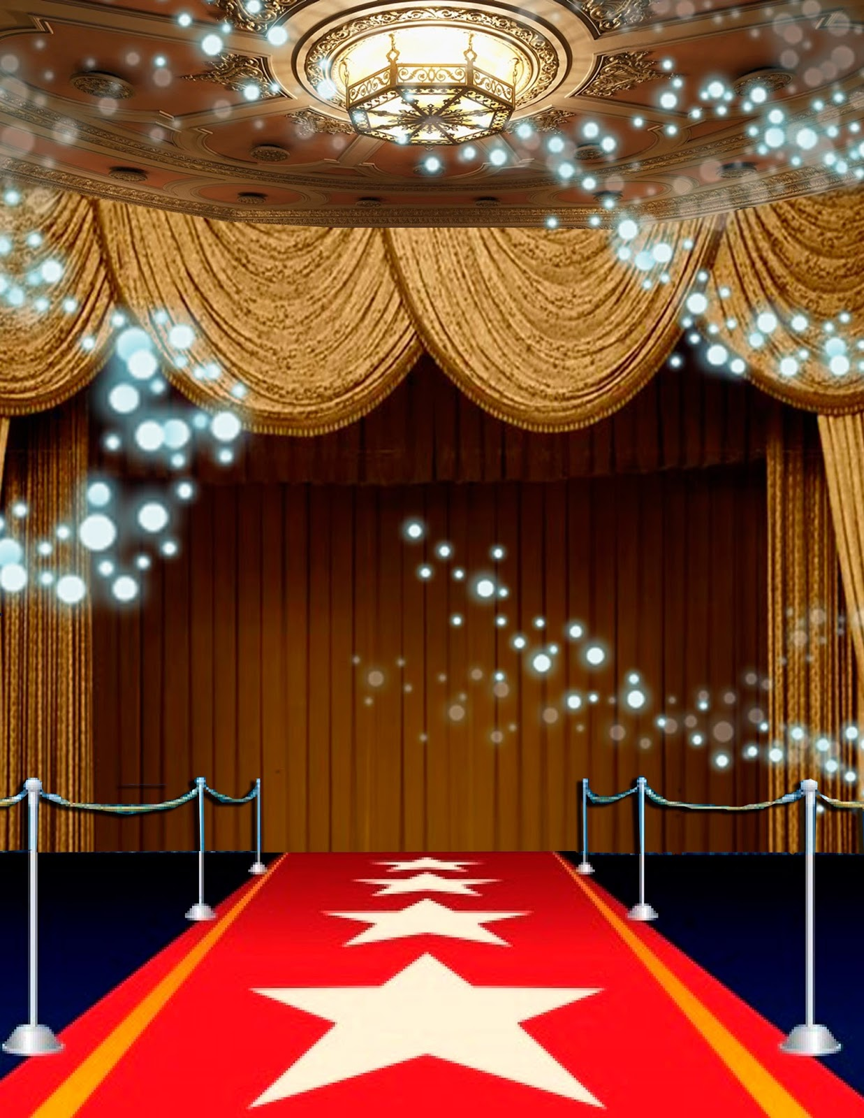 Alfombra Roja Hollywood Red Carpet Invitation Template