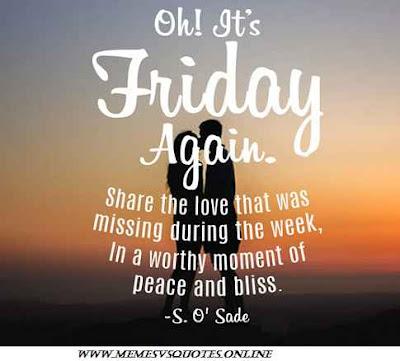 Friday Again