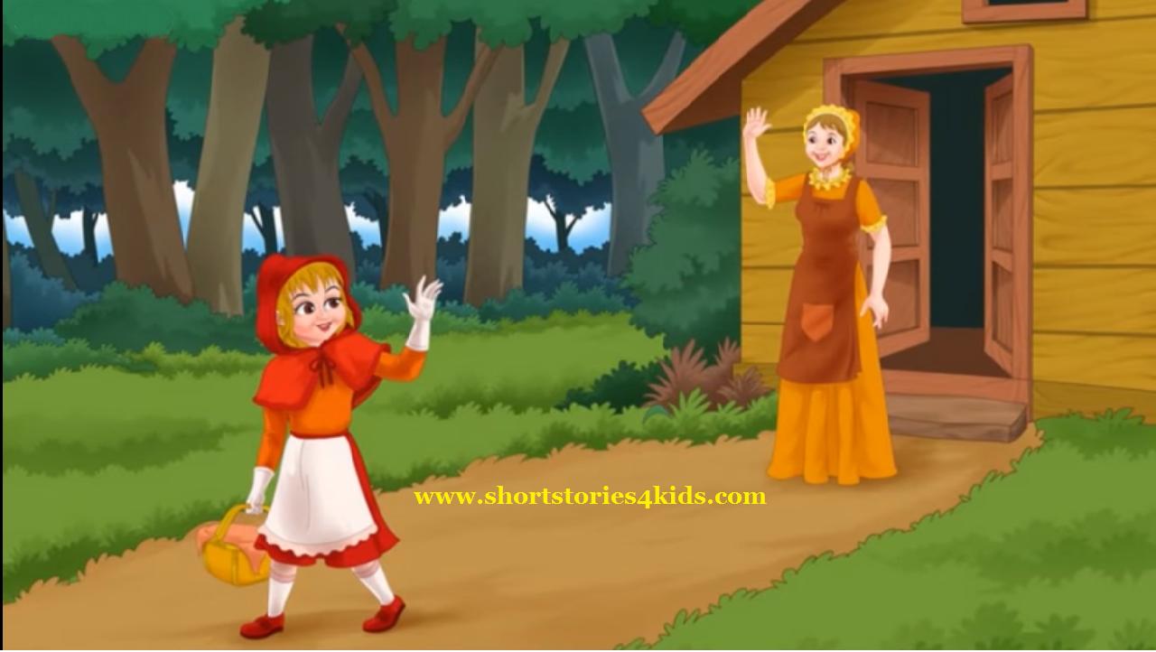 Little Red Riding Hood English Short Stories For Kids Short
