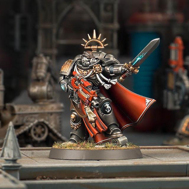 Personajes customizados Warhammer 40k