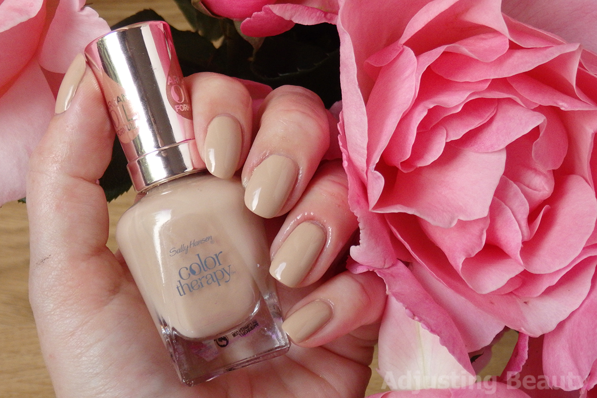 Review: Sally Hansen Color Therapy Nail Polish - 180 Chai on Life ...