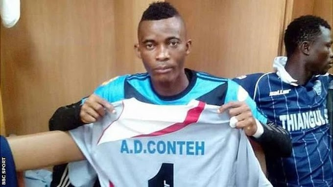 Sierra Leone mourns the death of top goalkeeper Alhaji Dauda Conteh