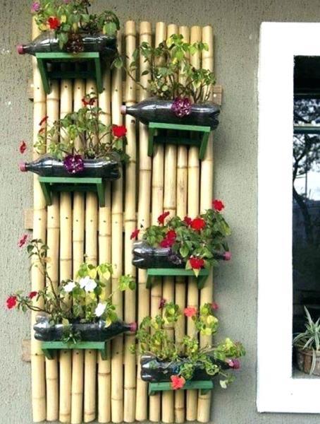 11 Hiasan Interior Rumah dari Bambu
