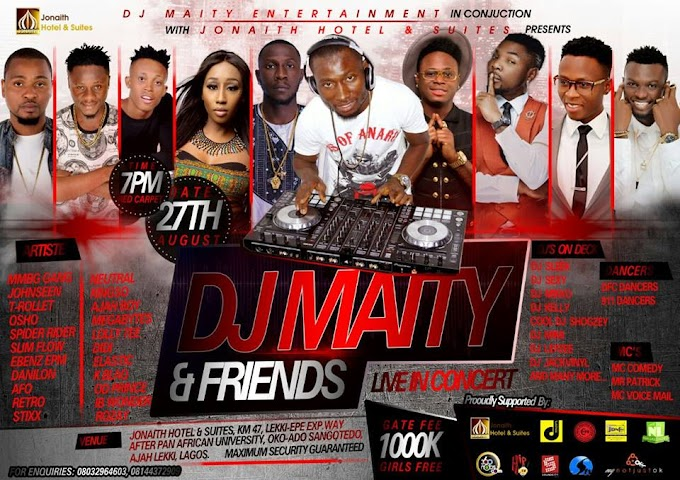 EVENTS: DJ MAITY & FRIENDS LIVE IN CONCERT