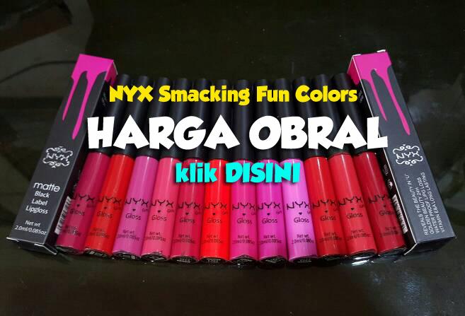 Harga obral NYX Smacking Fun Colors Klik DISINI