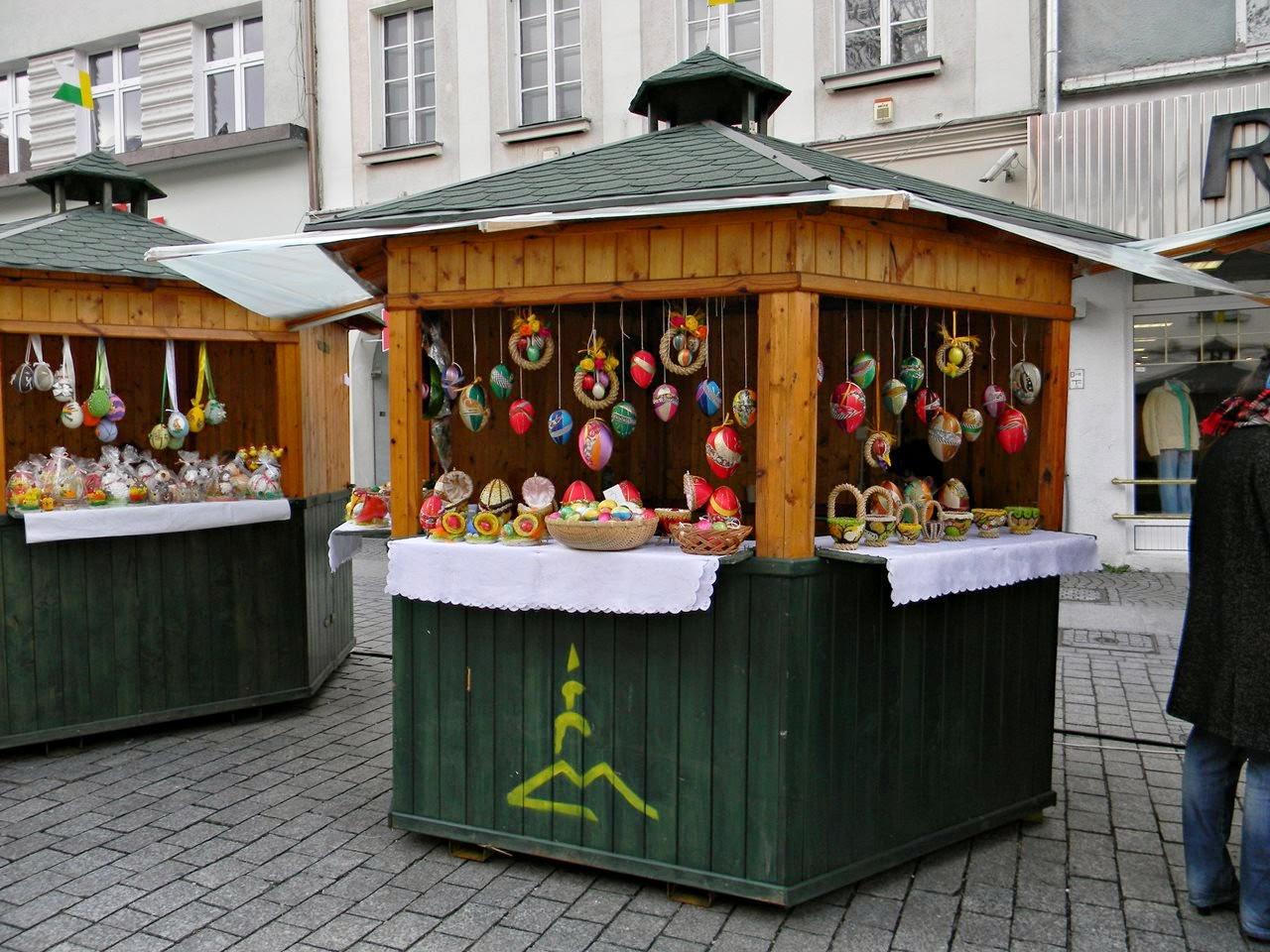jarmark, stoiska, tradycje świąteczne, jaja