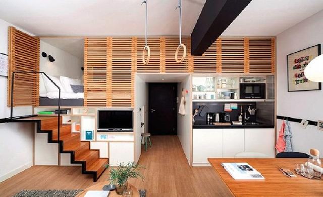 Vẻ đẹp lộng lẫy của căn hộ 25 mét vuông