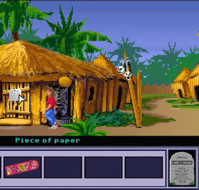 Pantallazo del juego Back to the Future Part III - Timeline of Monkey Island