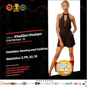 Miss Tourism Ogun 2018 Contestants Unveiled