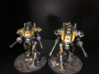 Imperial Knights Warhammer 40k Yellow