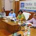 आयुक्त की अध्यक्षता में सम्पन्न हुई मण्डलीय विकास कार्यो की समीक्षा बैठक   Review Meeting of the Board for Developmental Committees headed by Commissioner