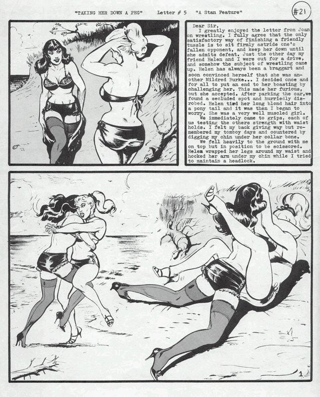 comic book catfights