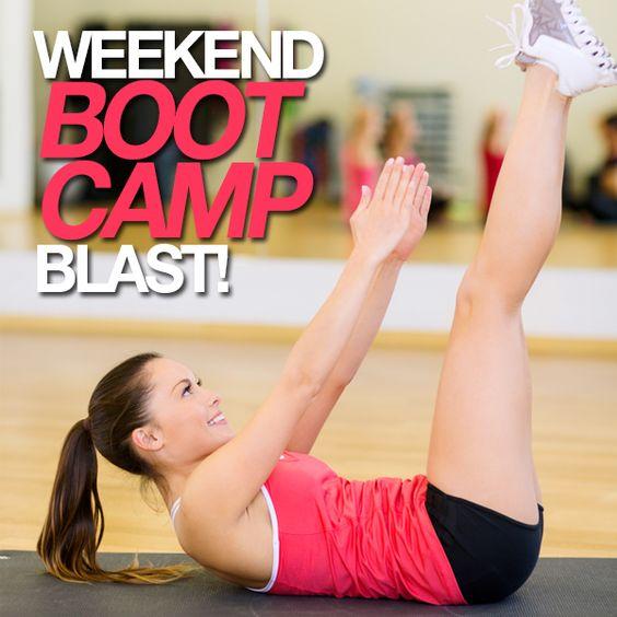 Weekend Boot Camp Blast!