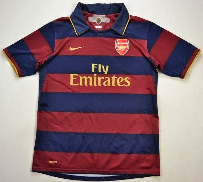 watch 1caa0 a13ce Jersey Retro Arsenal 3rd (Third) 2007 - 2008 | Big Match ...